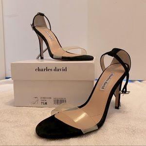 Charles David strappy heels